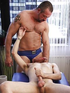 Gay Daddy vs Gay Boy Porn